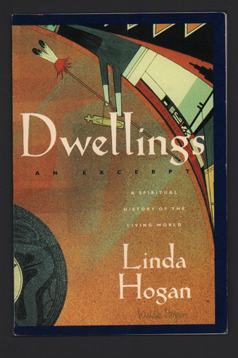 Dwellings: A Spiritual History of the Living World- An Excerpt (Signed promotional prospectus). Linda Hogan.