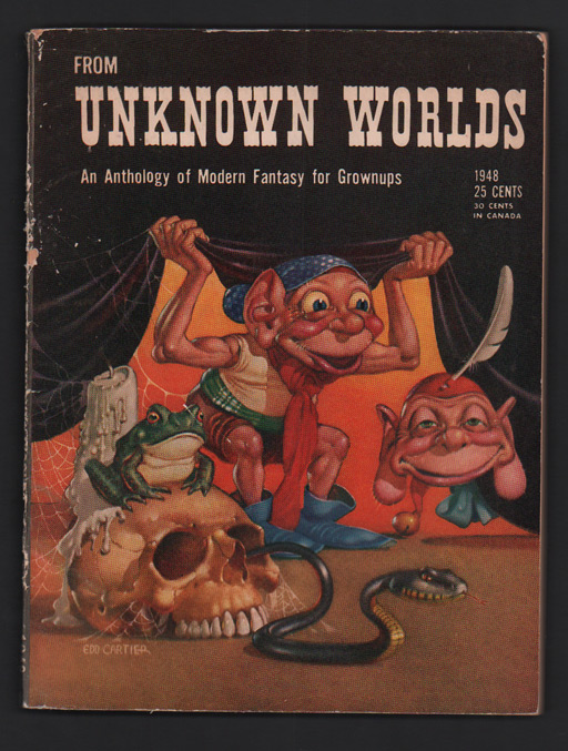 From Unknown Worlds: An Anthology of Modern Fantasy for Grownups (1948 edition)