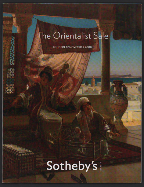 The Orientalist Sale - Auction in London, Wednesday 12 November 2008 - 10 a.m.