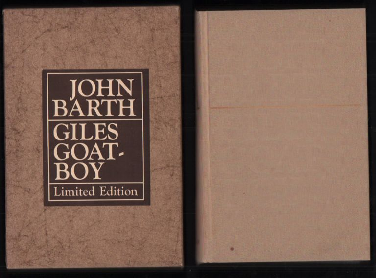 Giles Goat-boy; or, The Revised New Syllabus. John Barth.