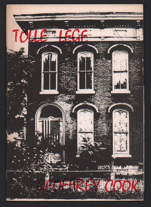 Tolle Lege- witness & the league. Geoffrey Cook.