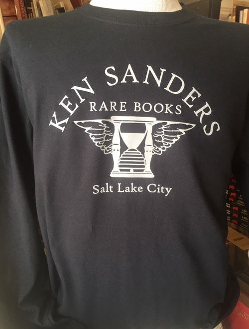 Ken Sanders Rare Books T-Shirt - Unisex Black Long Sleeve(S)
