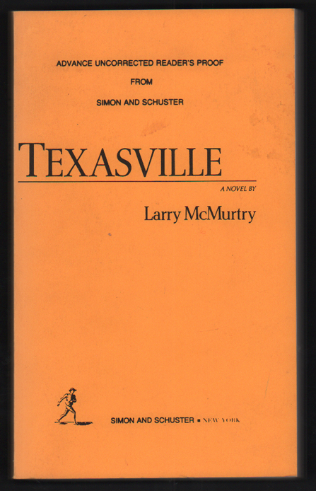 Texasville. Larry McMurtry.