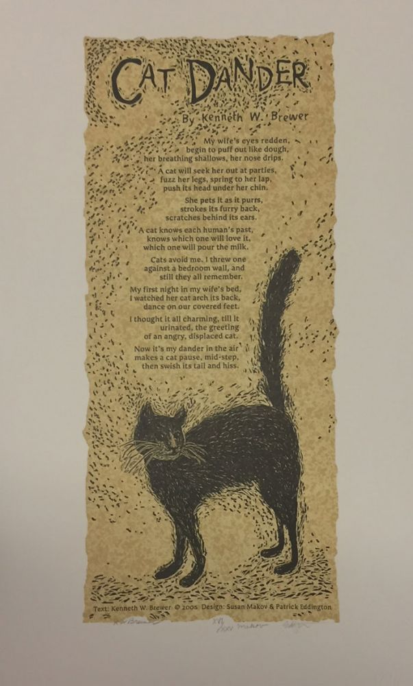 Cat Dander. Kenneth Brewer.
