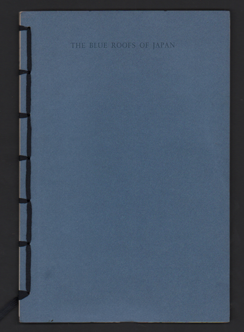 The Blue Roofs of Japan: A Score for Interpreting Voices. Robert Bringhurst.
