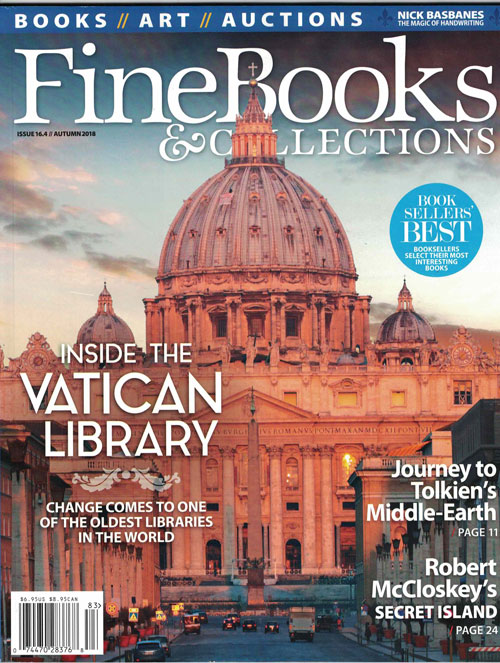 Fine Books & Collections: Issue 16.4 // Autumn 2018