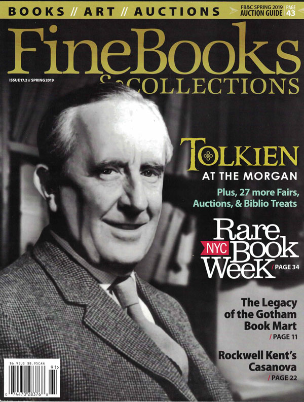 Fine Books & Collections: Issue 17.2 // Spring 2019