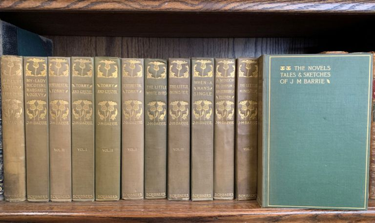 The Novels, Tales & Sketches of J. M. Barrie (12 volumes). J. M. Barrie.