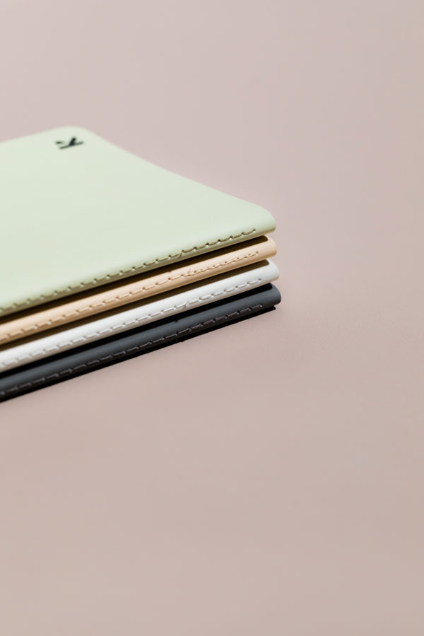Stone Paper Notebook (Black) - Blank Pages