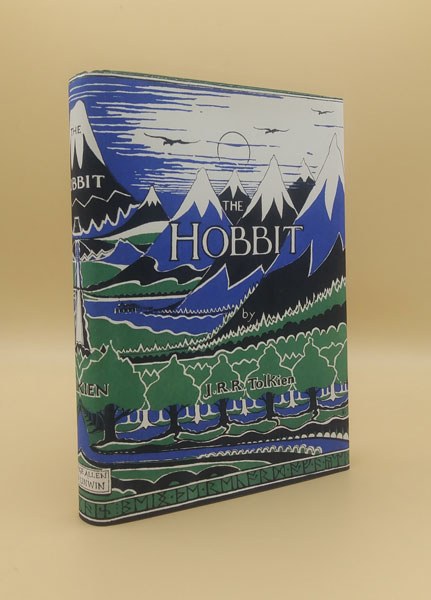 The Hobbit or There and Back Again. J. R. R. Tolkien.