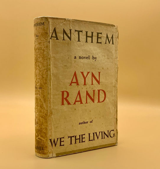 Anthem Ayn Rand First Edition First Printing