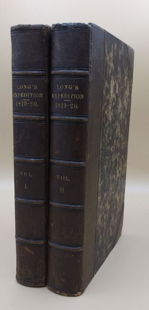 Account of an Expedition from Pittsburgh to the Rocky Mountains, Performed in the Years 1819 and '20, by Order of the Hon. J. C. Calhoun, Sec'y of War: Under the Command of Major Stephen H. Long. (Two-volume set). Stephen H. Long, Edwin James.