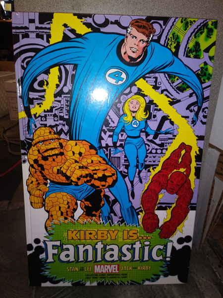 Kirby is... Fantastic! Jack Kirby, Stan Lee, Fantastic Four.