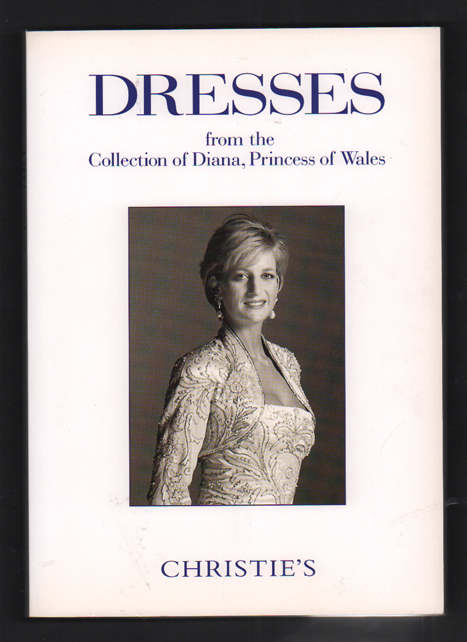 Dresses from the Collection of Diana, Princess of Wales: A charity sale conducted by Christie's on a not-for-profit basis. Princess Diana, Christie's.
