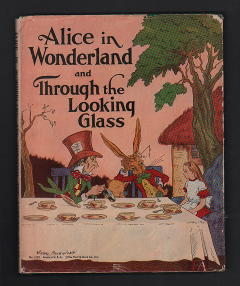 Alice in Wonderland and Through the Looking-Glass. Lewis Carroll, Adapted from.