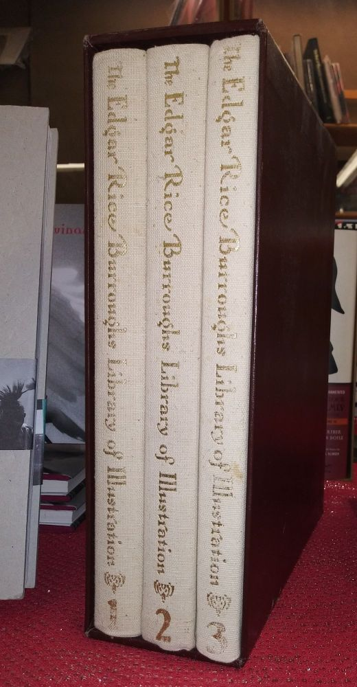 The Edgar Rice Burroughs Library of Illustration (3 volumes in a slipcase). Edgar Rice Burroughs.