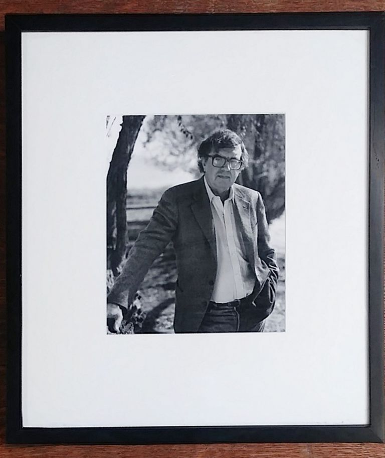 Portrait of Larry McMurtry by Lee Marmon, father of Leslie Marmon Silko