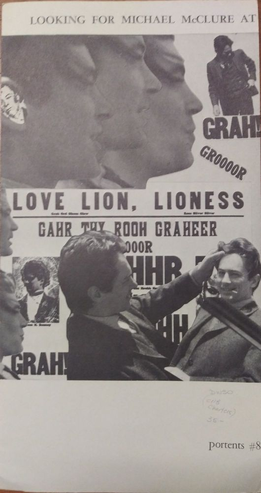 Looking for Michael McClure at the Corner of Haight and Ashbury (Portents #8). Samuel Charters, Beat Generation.