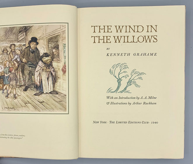 The Wind in the Willows. Kenneth Grahame, Bruce Rogers.