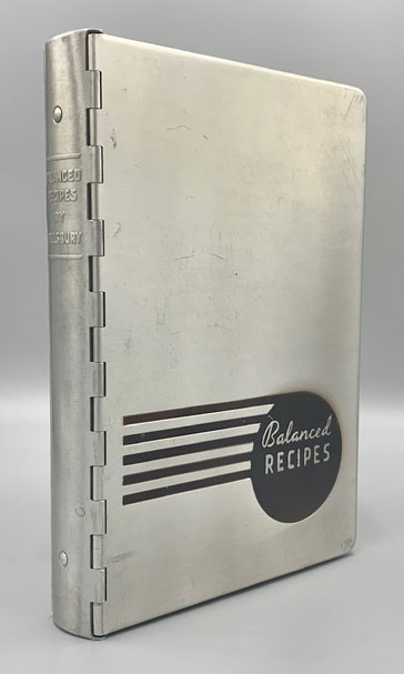 Balanced Recipes. Prepared under the direction of Mary Ellis Ames, Head of Staff of Pillsbury's Cooking Service. Mary Ellis Ames, Minnesota, Cookbook.
