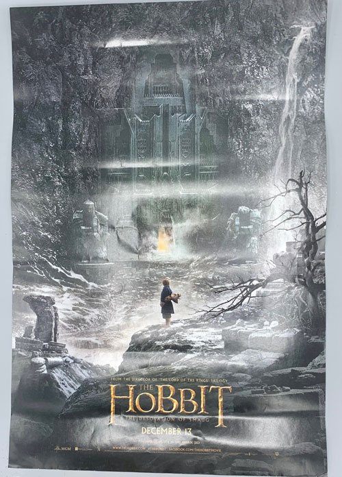 The Hobbit: The Desolation of Smaug (Movie Poster)