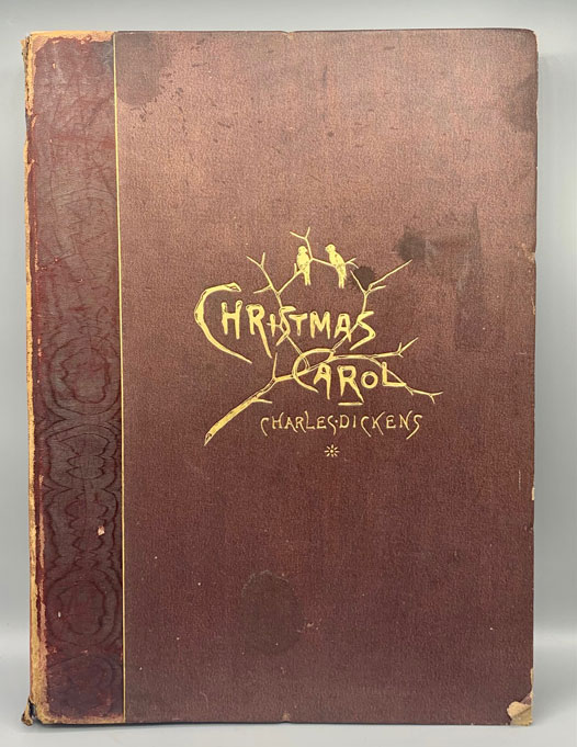 A Christmas Carol in Prose Being A Ghost Story of Christmas (Limited Japanese Paper Edition) [Boston Artist]. Charles Dickens.