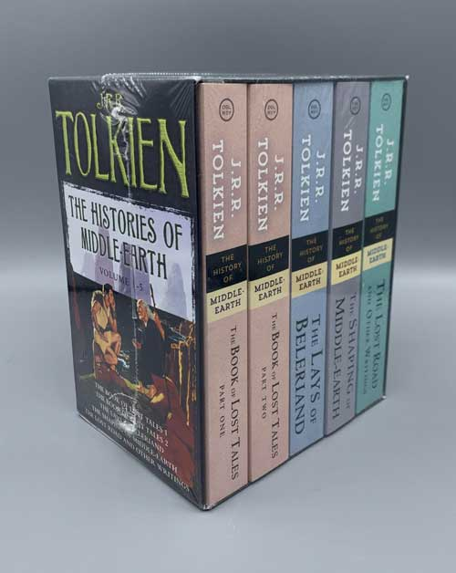 The Histories of Middle-Earth: Volumes 1-5. J. R. R. Tolkien.