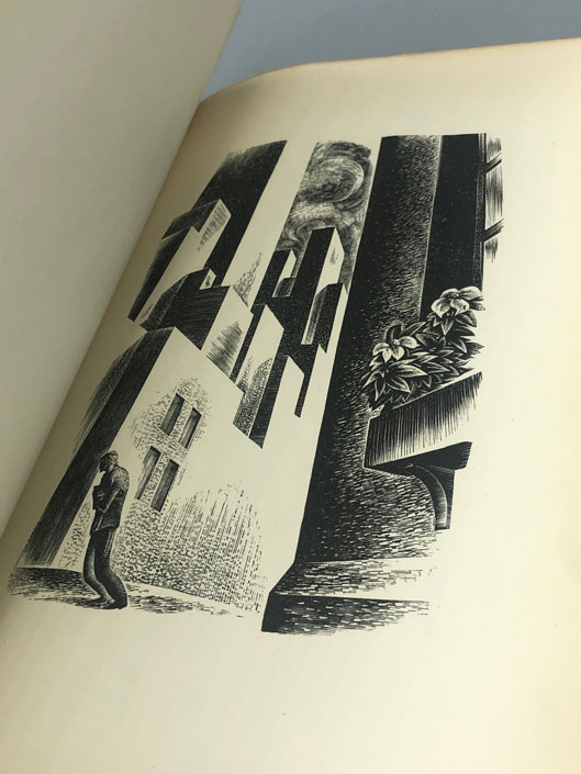 Prelude to a Million Years: A Book of Wood Engravings. Lynd Ward.