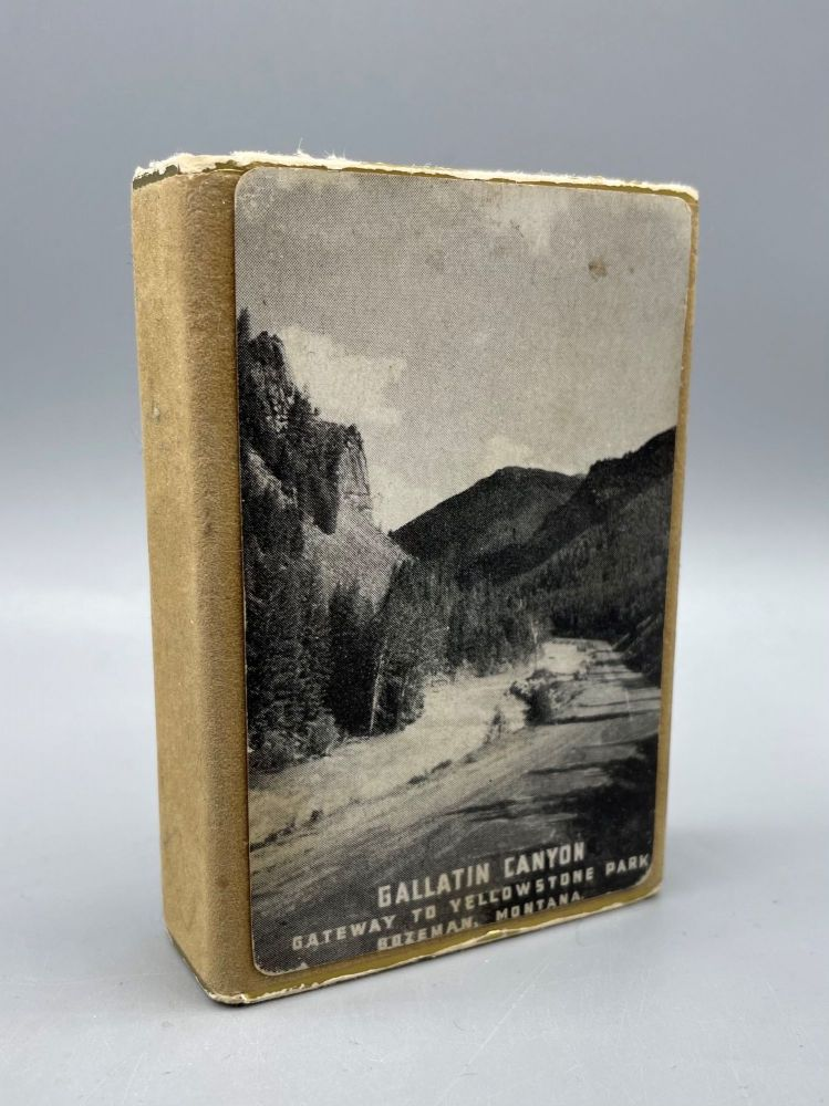Gallatin Canyon: Gateway to Yellowstone Park (Souvenir Playing Cards). National Parks.