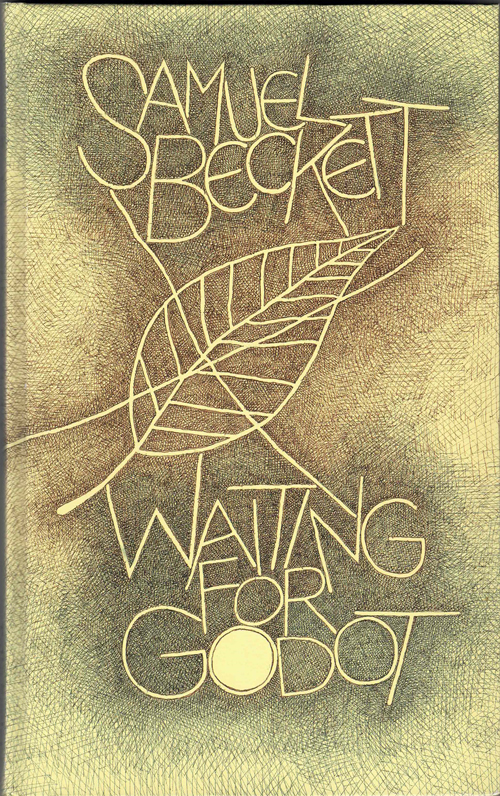 Waiting for Godot: A Tragicomedy in Two Acts. Samuel Beckett, Edward Beckett, Tom Phillips, preface, Illustrations.