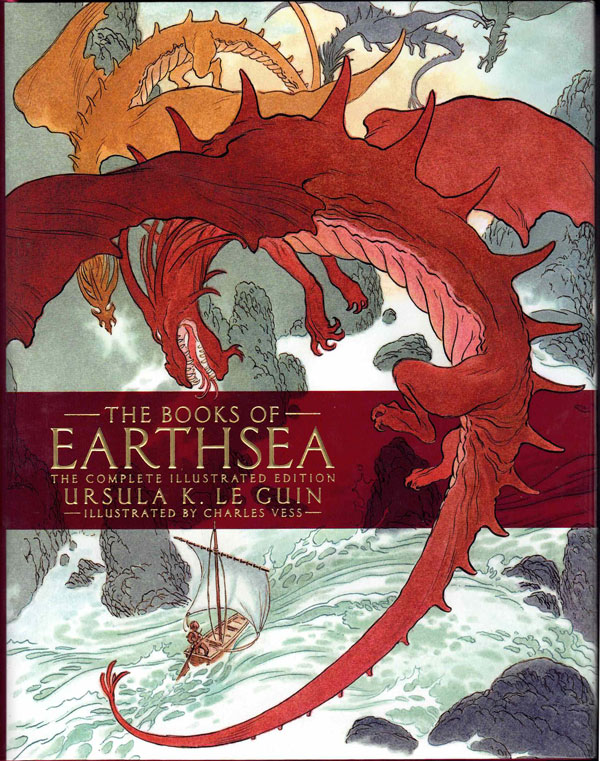 The Books of Earthsea: The Complete Illustrated Edition. Ursula K. Le Guin.