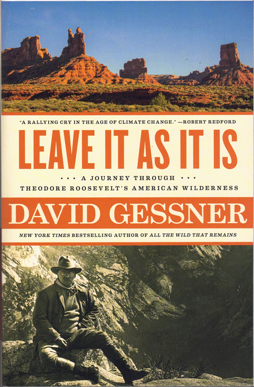 Leave It As It Is: A Journey Through Theodore Roosevelt's American Wilderness. David Gessner.