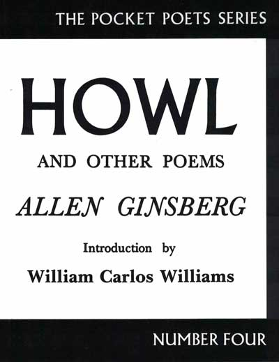 Howl and Other Poems. Allen Ginsberg.