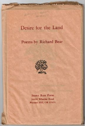 Desire for the Land. Richard Bear