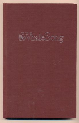 Whale Song: A Poet's Journey Into Cancer. Kenneth W. Brewer