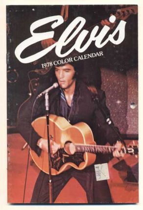 Elvis 1978 Color Calendar