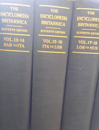 The Encyclopaedia Britannica: A Dictionary of Arts, Sciences, Literature and General Information....