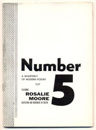 Number Magazine, A Quarterly of Modern Poetry, Volume 1, Number 5, November 1954. Robert Brotherson