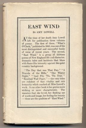 East Wind. Amy Lowell