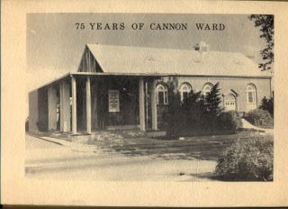 75 Years of Cannon Ward