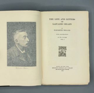 Life and Letters of Lafcadio Hearn (two volumes), Japanese Letters (one volume)