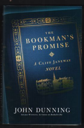 The Bookman's Promise; A Cliff Janeway Novel. John Dunning