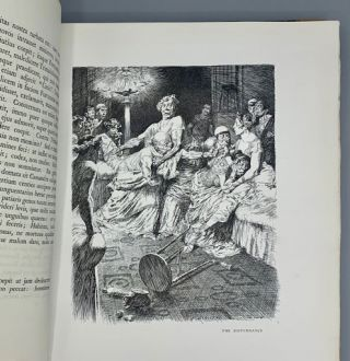 Petronius; A Revised Latin Text of The Satyricon with the Earliest English Translation (1694) now first reprinted with an introduction together with one hundred illustrations by Norman Lindsay