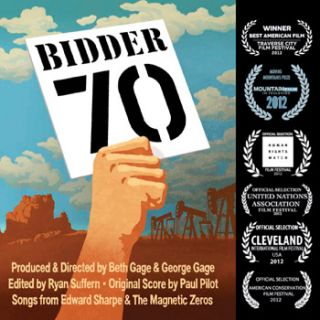 Bidder 70. Beth Gage, George Gage, Tim DeChristopher, Co-Directors, Subject