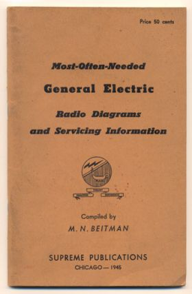 Most-Often-Needed General Electric Radio Diagrams and Servicing Information. M. N. Beitman