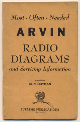 Most-Often-Needed Arvin Radio Diagrams and Servicing Information. M. N. Beitman