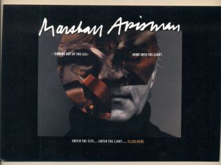 Marshall Arisman: Coming Out of the Light / Going into the Light. Marshall Arisman, Postcard
