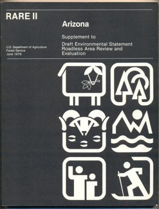 Arizona State Supplement to USDA Forest Service Environmental Statement (RARE II- Arizona:...