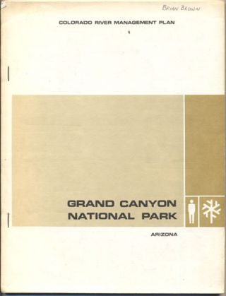 Colorado River Management Plan Grand Canyon National Park Arizona