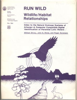 Index to the Natural Drainage Systems of Arizona- A Computer Compatible Digital Identification of...